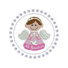 Mi Bautizo - Embroidery design