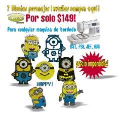 Personajes amarillos pack -