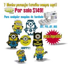 Minions yellow pack -
