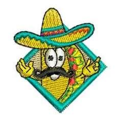 Taco - Ponchados para bordados