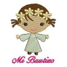 Nena Bautizo - Ponchados para bordados