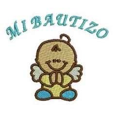 Bebé Bautizo - Embroidery design