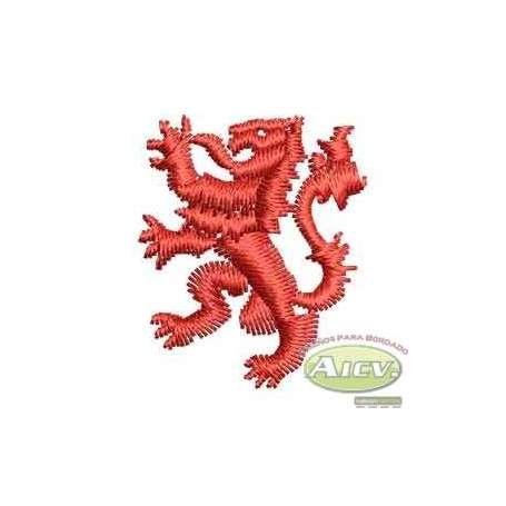 Leon rojo polo