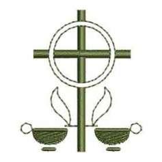 Cruz velas - Ponchado