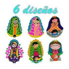 Virgin Mary designs for any machine embroidery