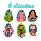 Virgencitas para bordado pack