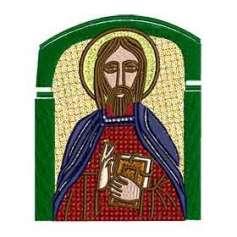 Jesús bizantino - Picajes para bordados