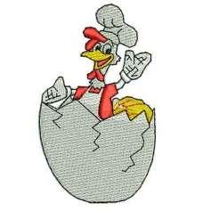 Pollo - Embroidery design