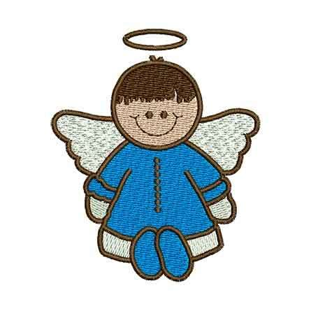 Little blue angel