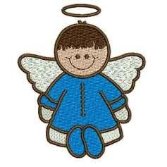 Angelito azul -