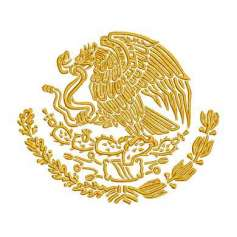 Eagle emblem México 20 inches