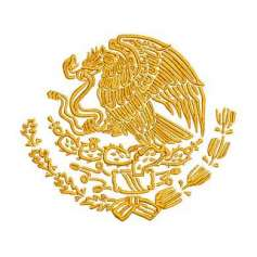 Eagle emblem México 8 inches