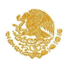 Eagle emblem México 8cm. - Embroidery