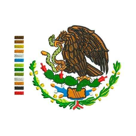 Eagle emblem México 10 inches