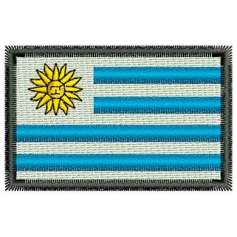 Uruguay Flag - Bordados