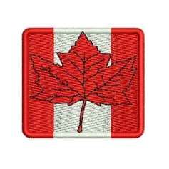 Canada maple leaf flag