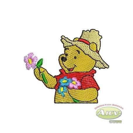 Pooh flowers