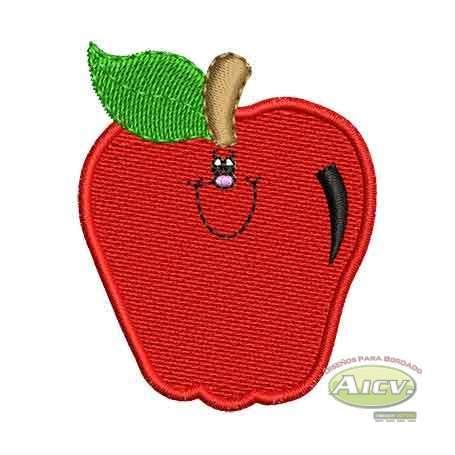 Manzana - Ponchados para bordados