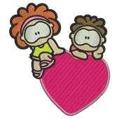 Children with heart