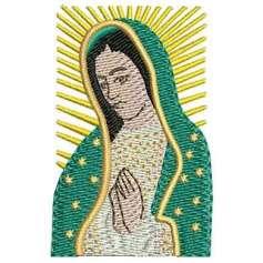 Virgen de Guadalupe rostro -