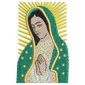 Our Lady of Guadalupe portrait