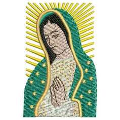 Our Lady of Guadalupe portrait -