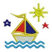 Sailboat with Sun