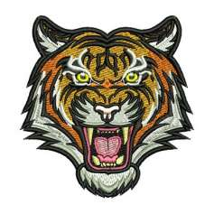 Tiger - Embroidery