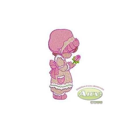 Girl rose