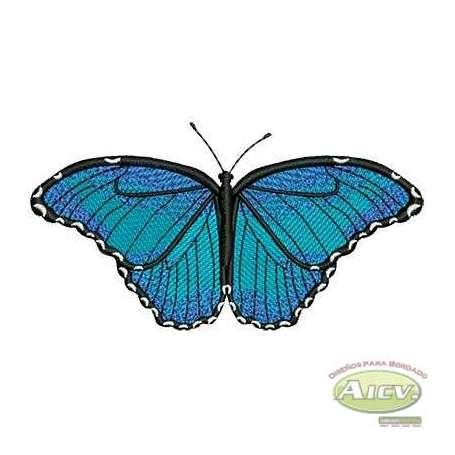 Blue butterfly - Matrices para bordados