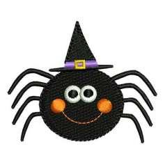 Arañita Halloween - Ponchado