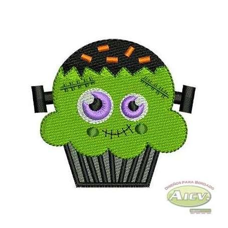 Panquecito Frankenstein - Embroidery design