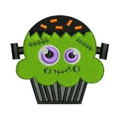 Panquecito Frankenstein - Embroidery design