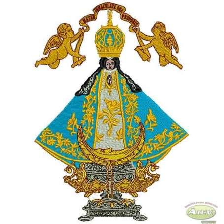 Our Lady of San Juan de los Lagos - Matrices para bordados