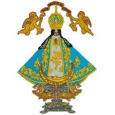 Virgen de San Juan de los Lagos - Ponchado