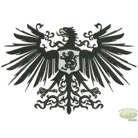 Águila Heráldica - Embroidery design