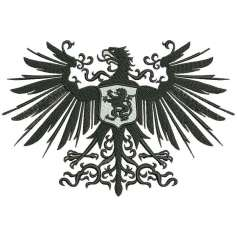 Heraldic Eagle - Embroidery