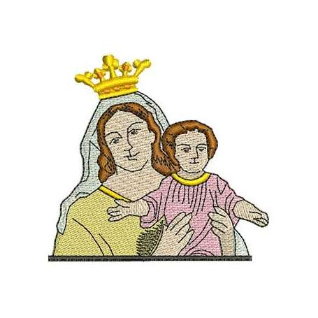Our Lady Of Carmen - Bordados