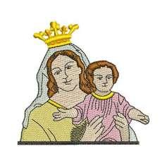 Virgen del Carmen - Embroidery design