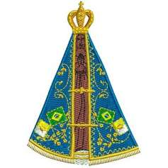 Nuestra Señora de la Concepción Aparecida - Picajes para bordados