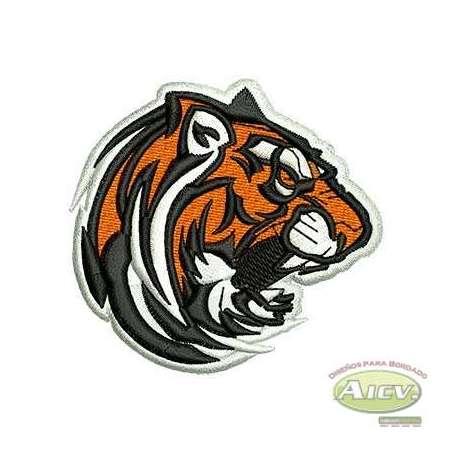 Tigre - Ponchados para bordados