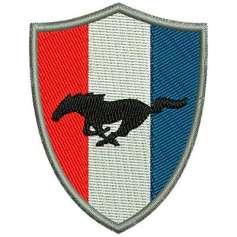 Mustang escudo -