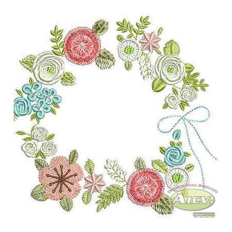 Flower frame -