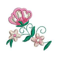 Flor detalle - Embroidery design