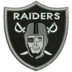 Raiders Negro -