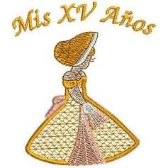 XV Años - Picajes para bordados