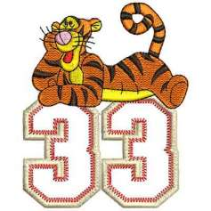 Tiger33 - Embroidery