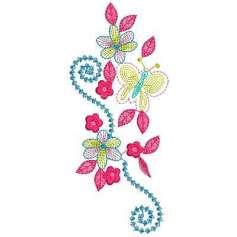 Flower stitching - Picaje