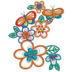 Mariposas conjunto - Ponchados para bordados