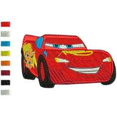 Lightning Mcqueen2 - Matrices para bordados